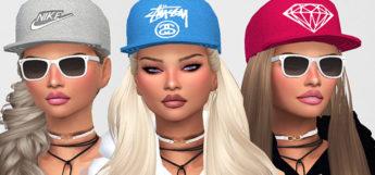 City Girls Wide-Brim Hats CC - TS4
