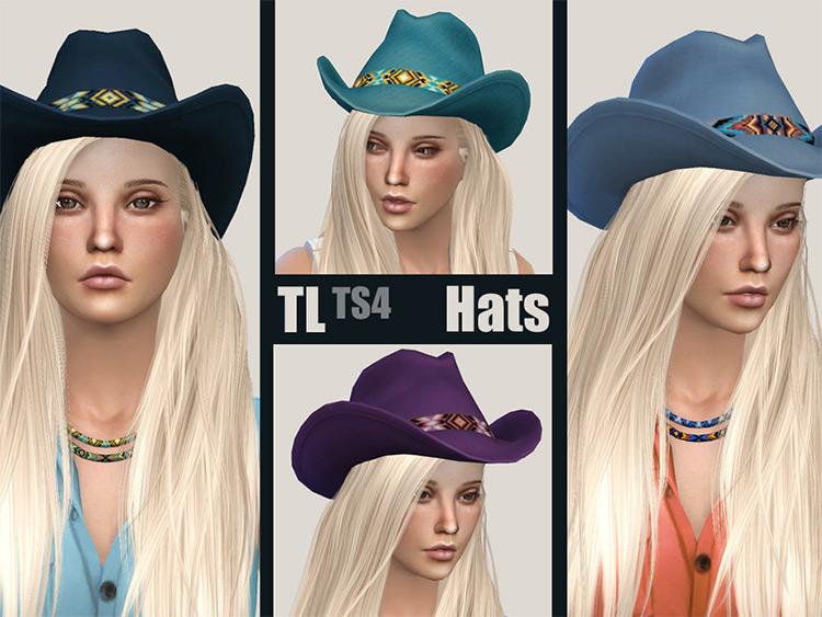 Blue Western Hats CC - TS4