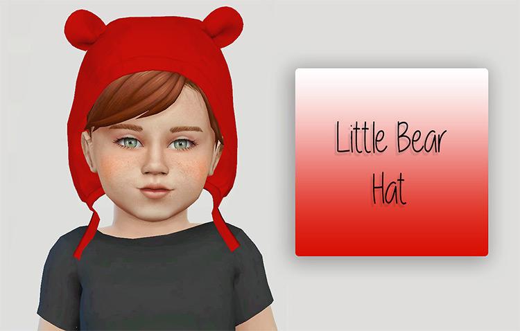 Little Bear Hat - Sims 4 CC