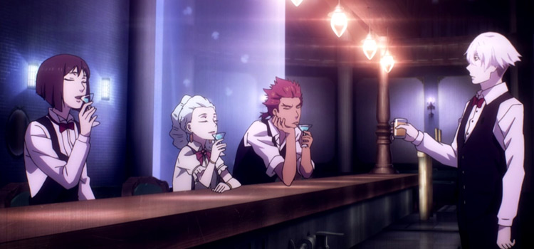 Death Parade Drinks at the Bar - Anime Screenshot