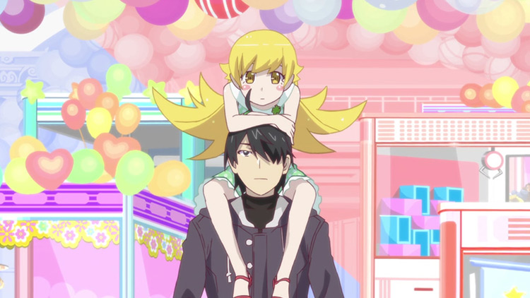 Monogatari series anime