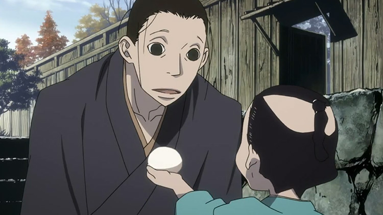 House of Five Leaves anime screenshot