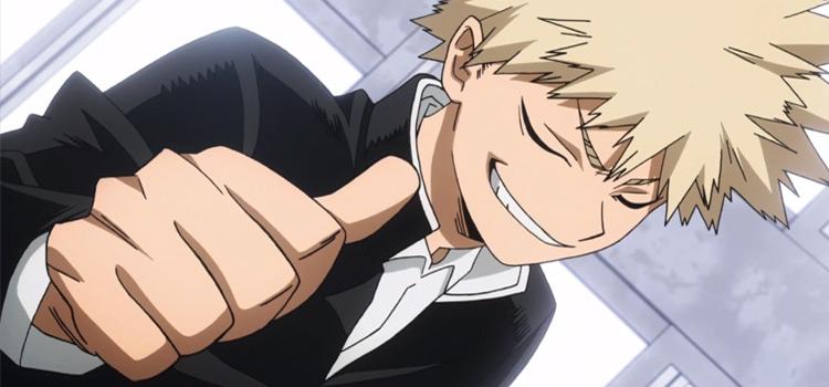 Katsuki Bakugou Full of Himself - BNHA Screenshot