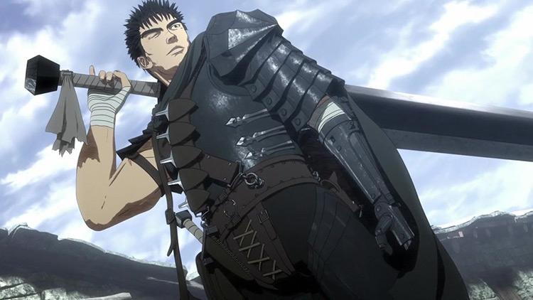 Guts from Berserk anime