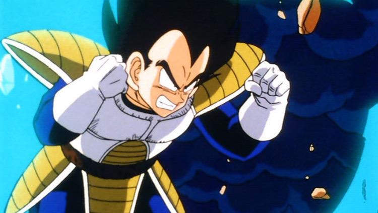 Vegeta Dragon Ball Z anime screenshot