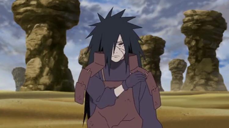 Madara Uchiha in Naruto: Shippuden