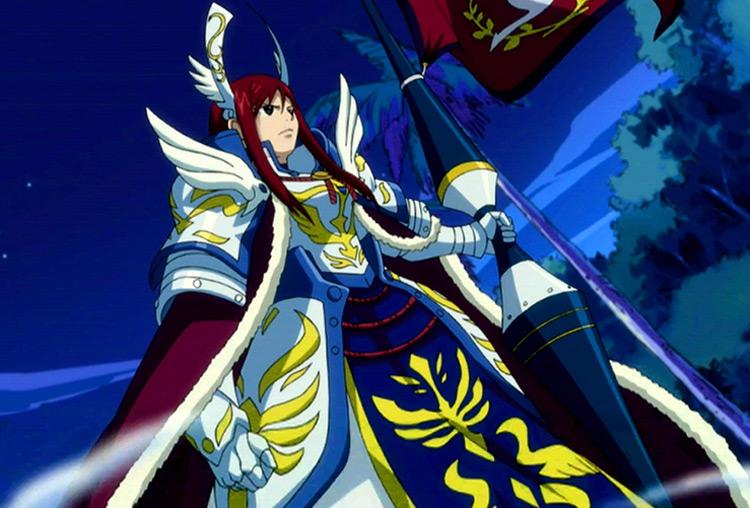 Erza Scarlett in Fairy Tail anime
