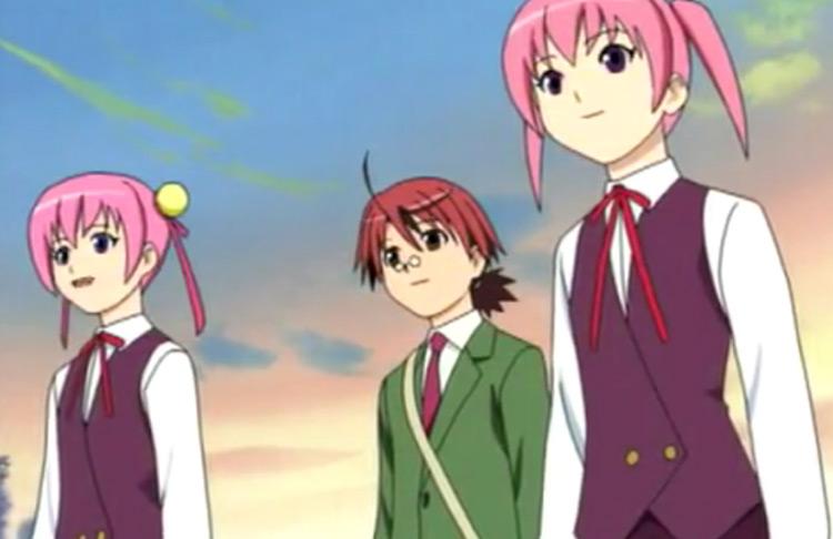 Mahou Sensei Negima! anime