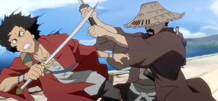 Samurai Champloo Battle Scene in Anime