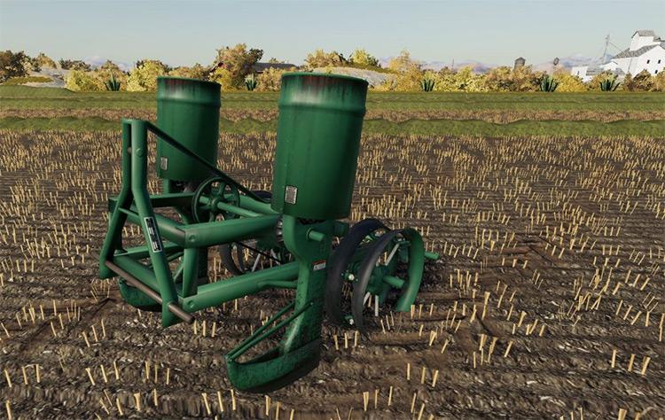 Classic Row Planter Mod - FS19