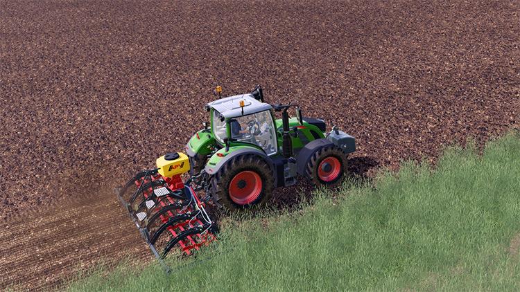 Saphir GS 603 Seeder+Tractor Mod