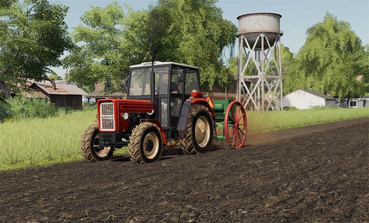 Hassia FS Classic Planter/Seeder - FS19 Mod