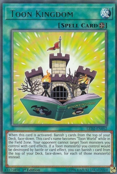 Toon Kingdom YGO Card