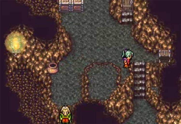Genji Glove Cavern in Final Fantasy VI