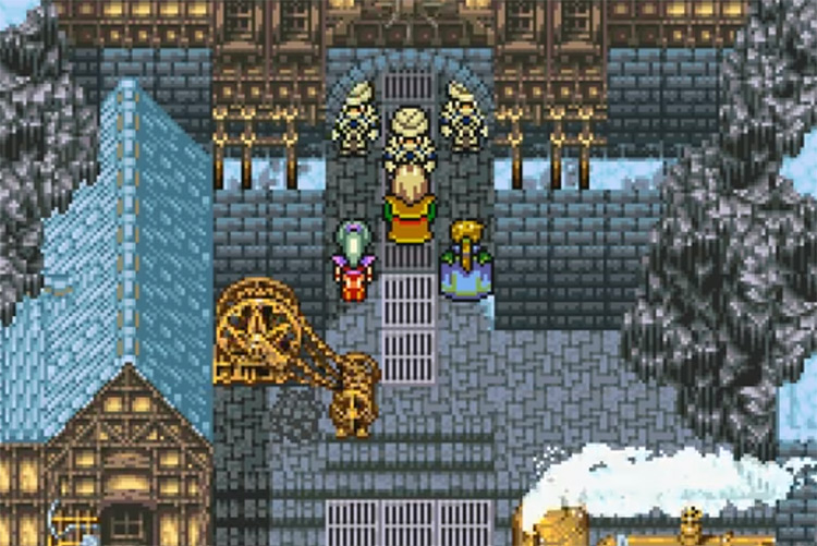 FF6 Advance in Town Screenshot