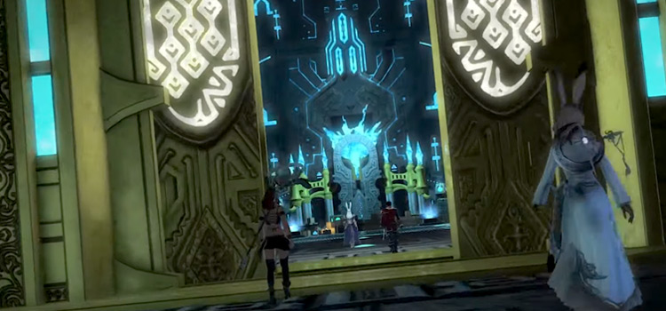 Twinning Dungeon Entrance in FFXIV