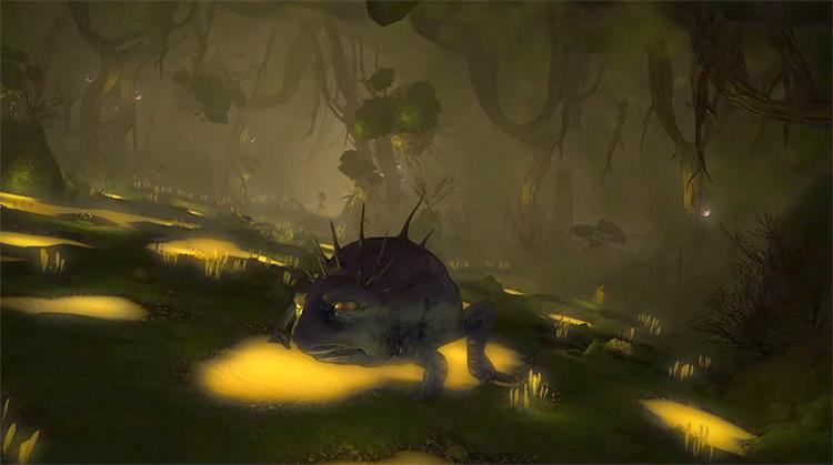 The Aurum Vale Dungeon in FF14