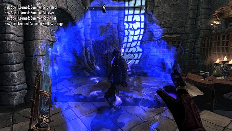 Conjuration Madness Mod for Skyrim