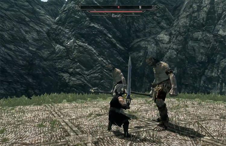 Round Based Combat Mod for Skyrim