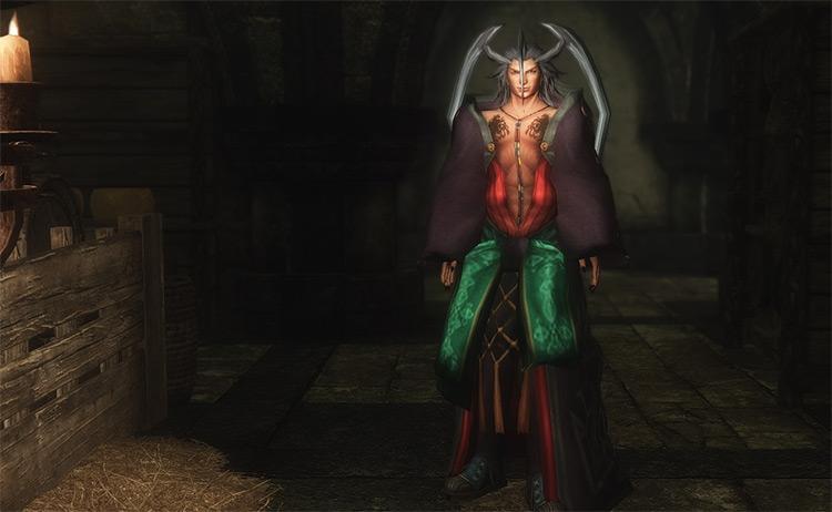 FFX Seymour Guado Character - Ultimate Final Fantasy Playermodel Mod for Skyrim