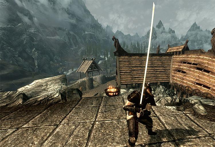 Masamune Mod - Sword For Skyrim
