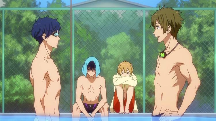 Free! anime screenshot