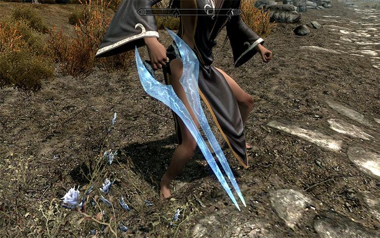 Halo Energy Sword Mod for Skyrim