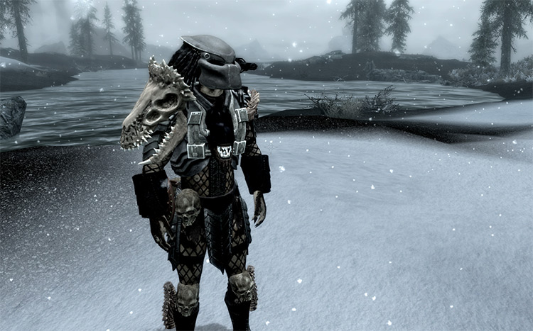 Lost Tribes Predator Character Mod for Skyrim