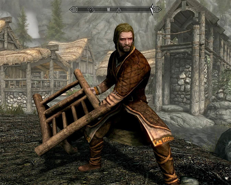 Chair Weapon Mod for Skyrim