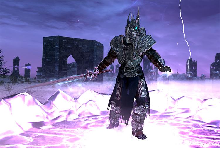 Resplendent Lich King Armor - Skyrim