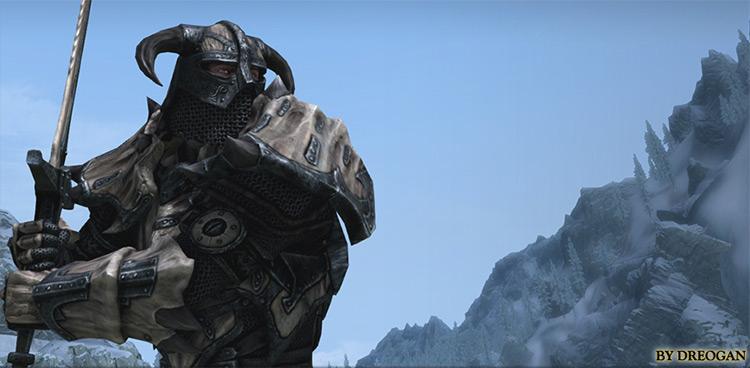 Dragonbone Ebonsteel Armor Mod - Skyrim