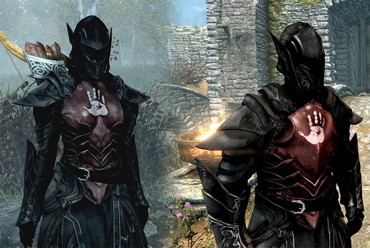 Dark Brotherhood Heavy Armor Mod - Skyrim