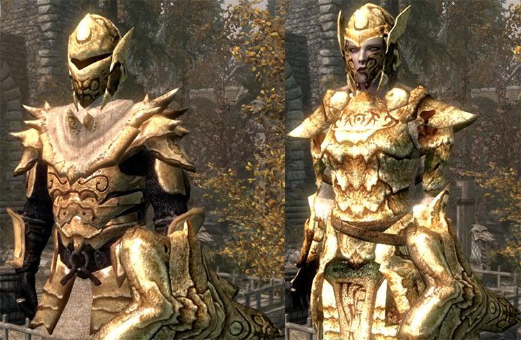 Morrowind Armor Compilation Mod for Skyrim