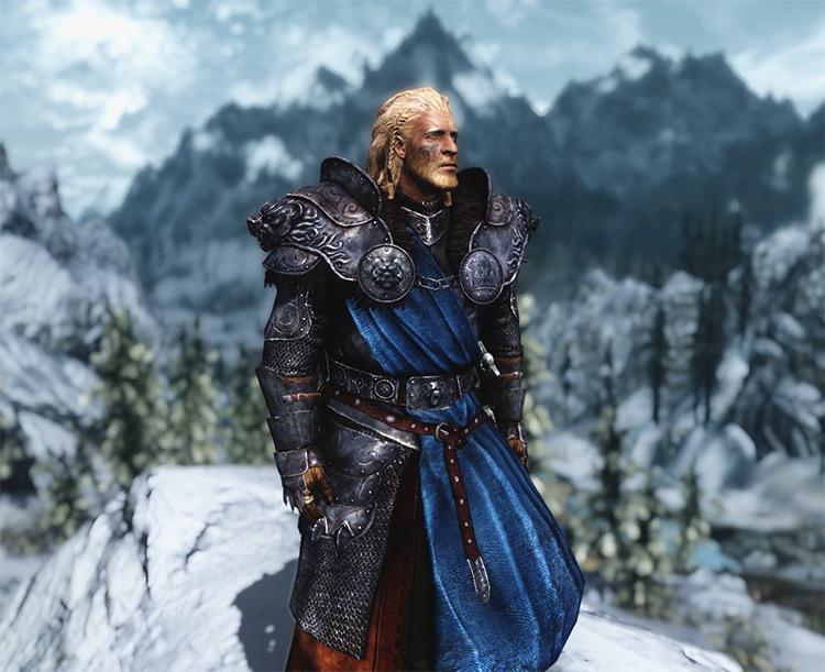 Stormlord Armor Mod for Skyrim