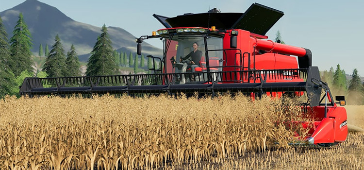 Axial-Flow 7130 Combine Harvester Mod - FS19