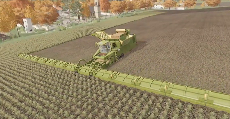 Tectron 50 Meters Mod for FS19