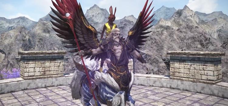 Ramuh Mount in Final Fantasy XIV