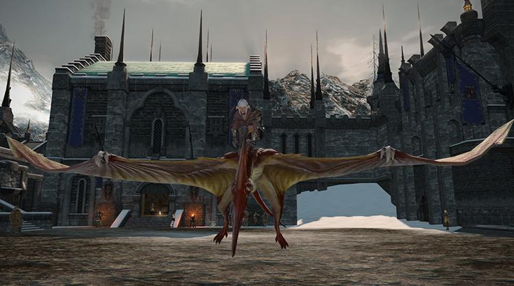 Pteranodon in Final Fantasy XIV
