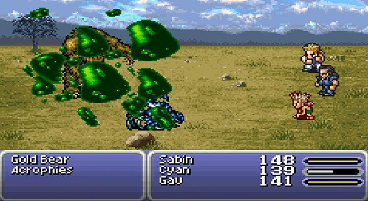Tyranosaur FFVI Gau's Rage