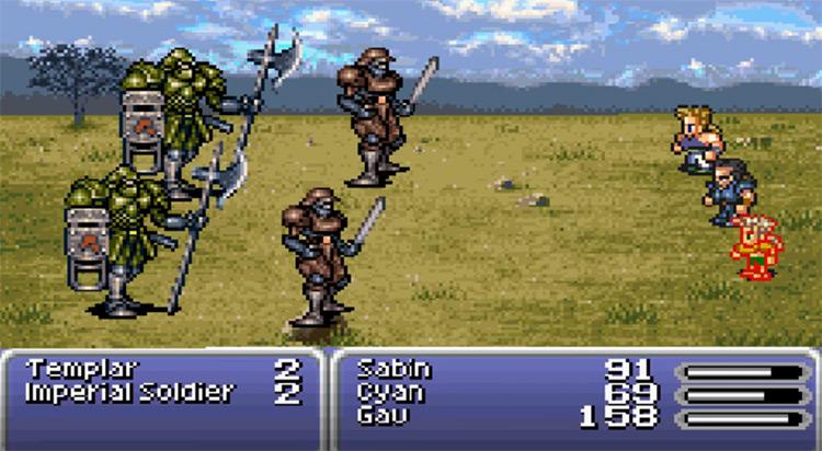 Templar in Final Fantasy VI