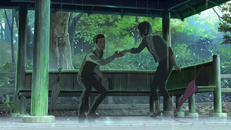 The Garden of Words anime screenshot