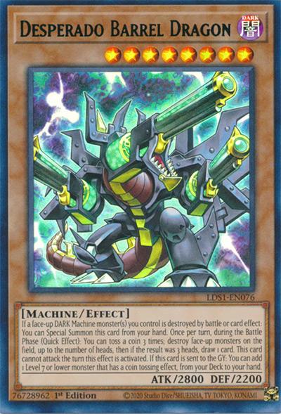 Desperado Barrel Dragon Yu-Gi-Oh! Card