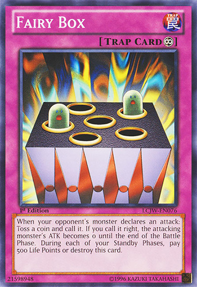 Fairy Box Yu-Gi-Oh! Card