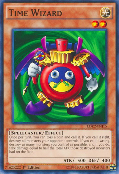Time Wizard Yu-Gi-Oh! Card