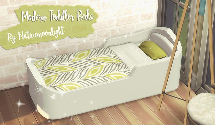 Modern Toddler Beds Sims 4 CC