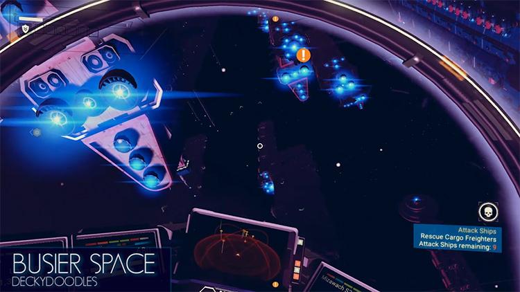 Busier Space mod