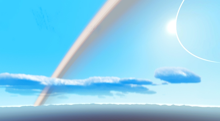 Fewer Bigger Clouds mod