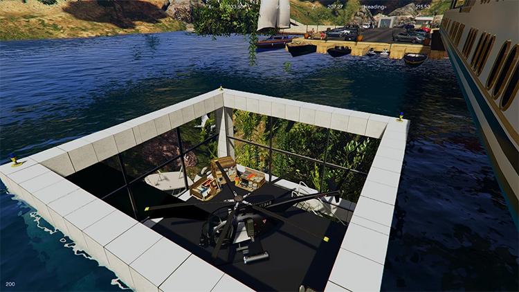 Underwater Mafia mod GTA5