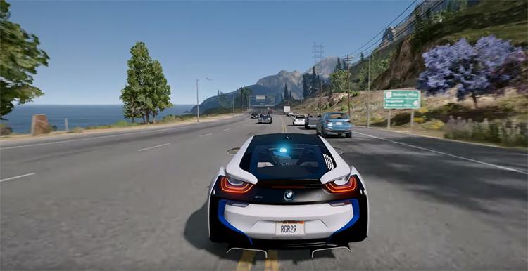 Natural Vision GTA5 mod