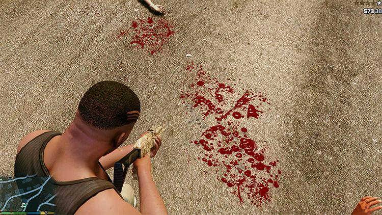 HD Blood GTA5 mod
